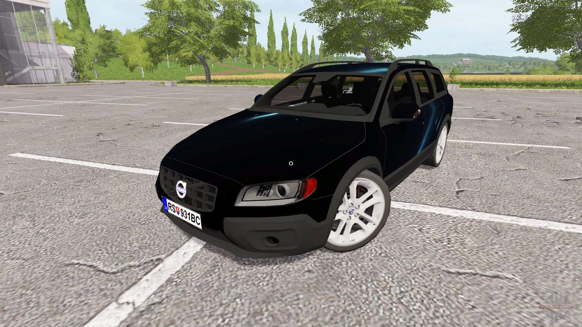 volvo xc70 for farming simulator 2017. Black Bedroom Furniture Sets. Home Design Ideas
