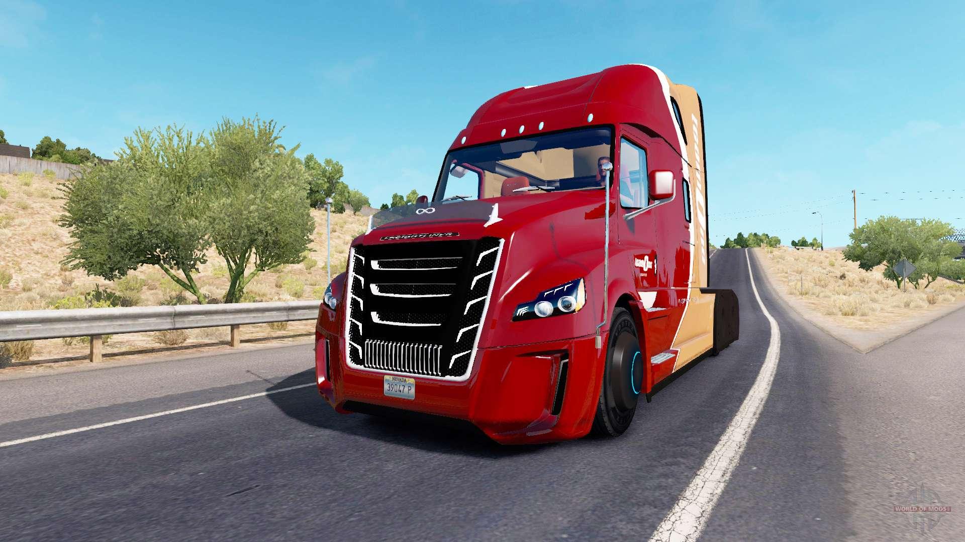 freightliner inspiration for american truck simulator. Black Bedroom Furniture Sets. Home Design Ideas