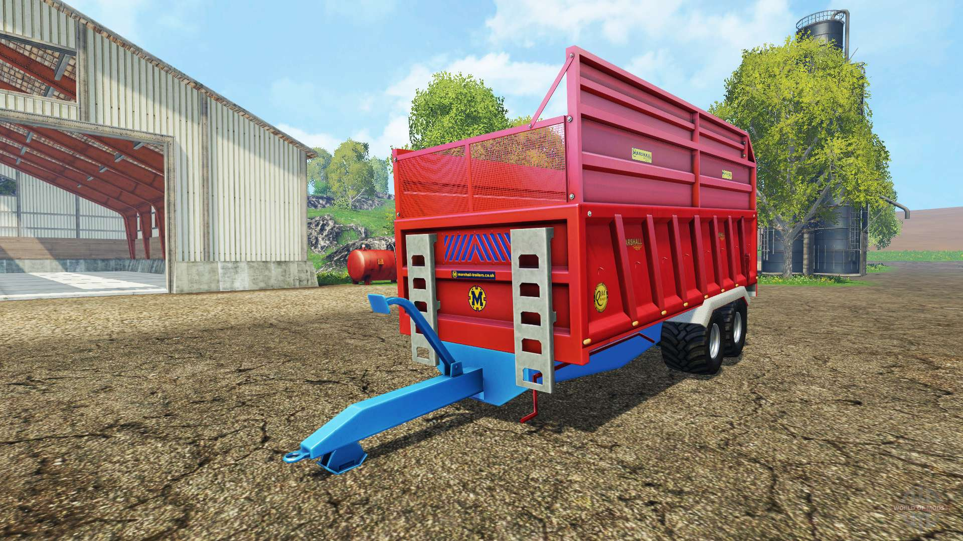 marshall qm 16 for farming simulator 2015. Black Bedroom Furniture Sets. Home Design Ideas