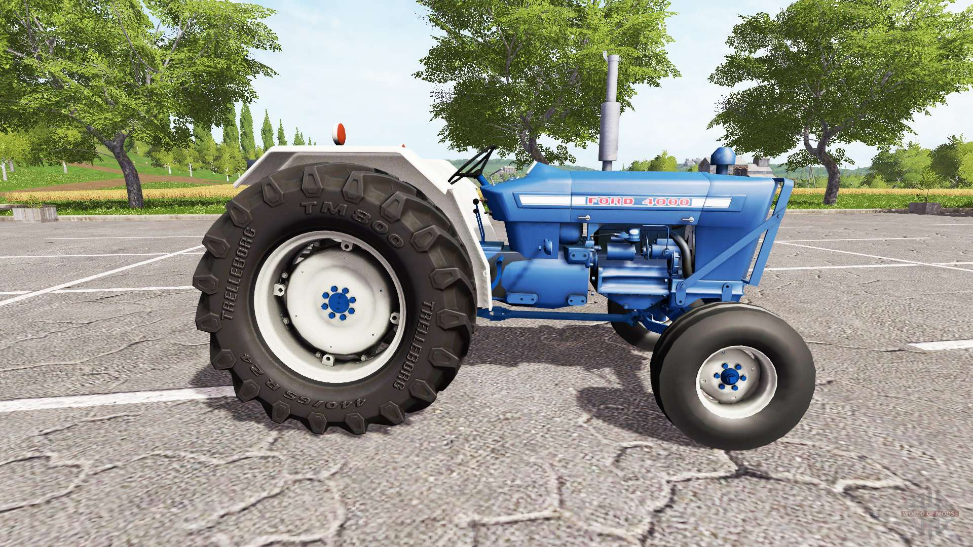 Ford 4000 Tractor Tire Rims : Ford for farming simulator