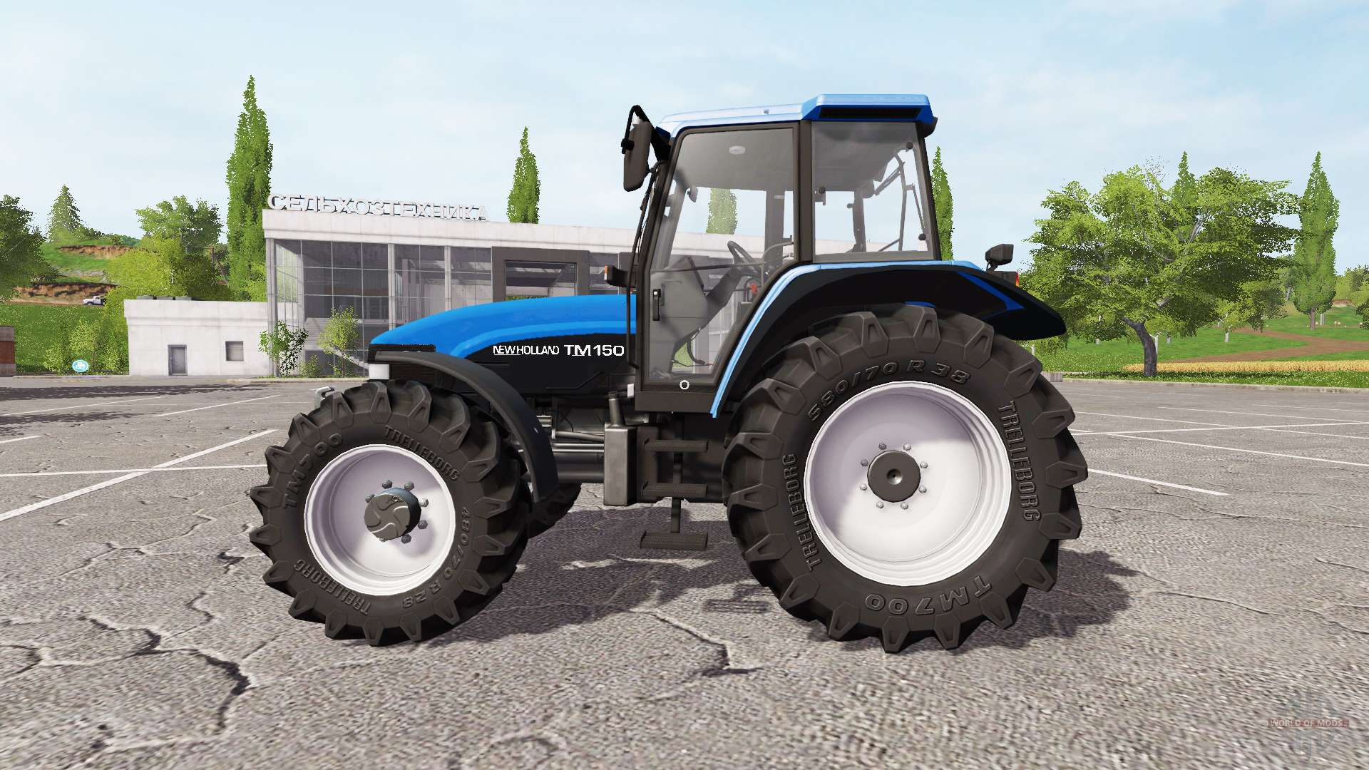 New Holland TM150 for Farming Simulator 2017