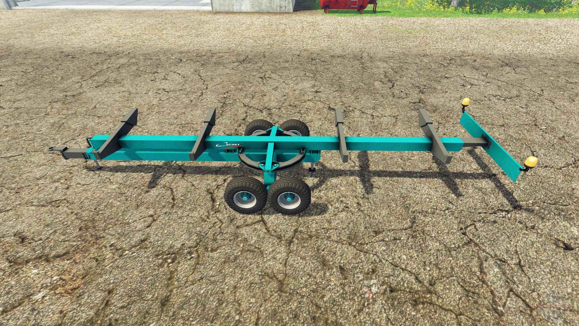 Cochet header trailer for Farming Simulator 2015