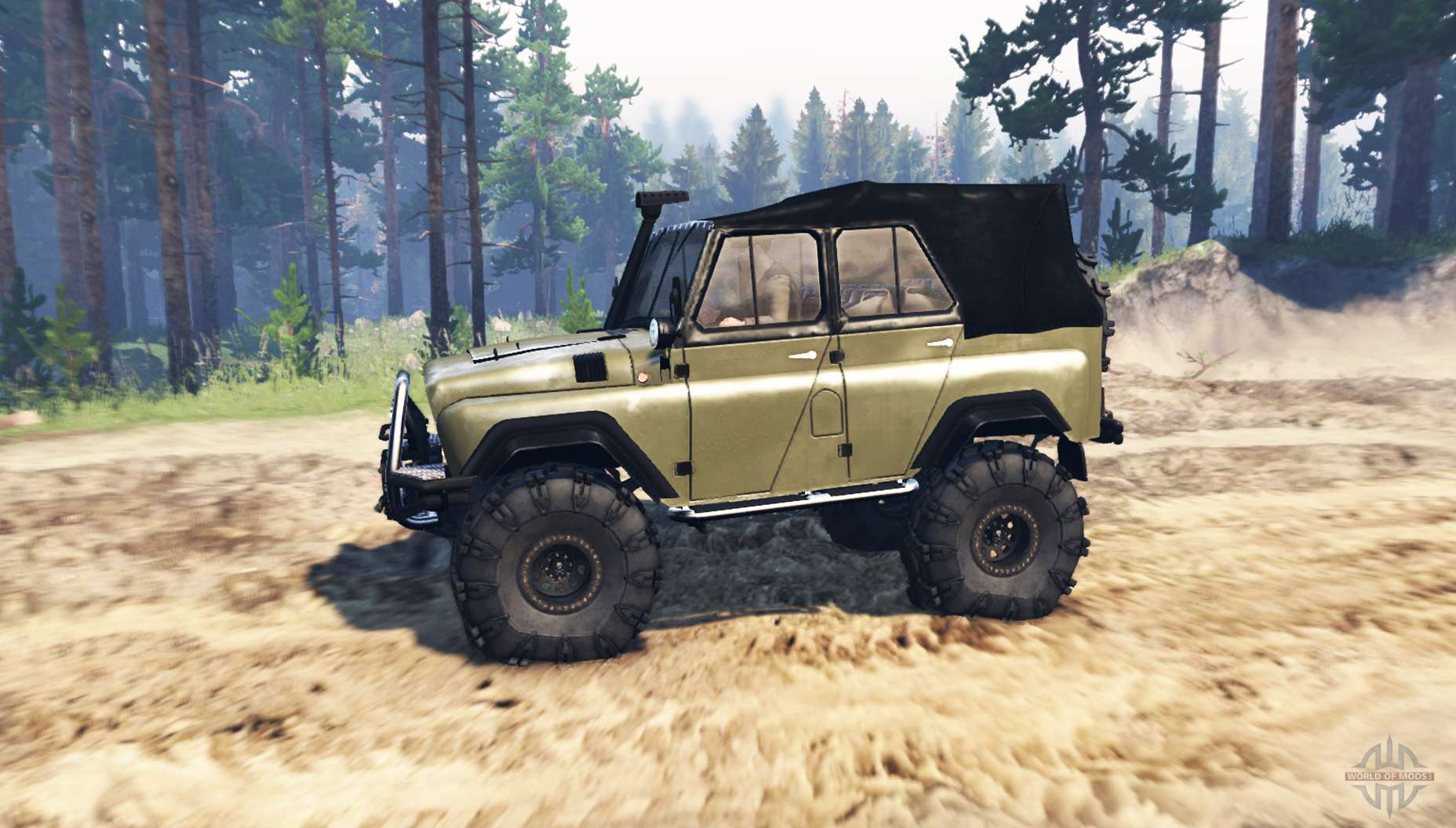 uaz 469 v1 phantom 1 for spin tires. Black Bedroom Furniture Sets. Home Design Ideas