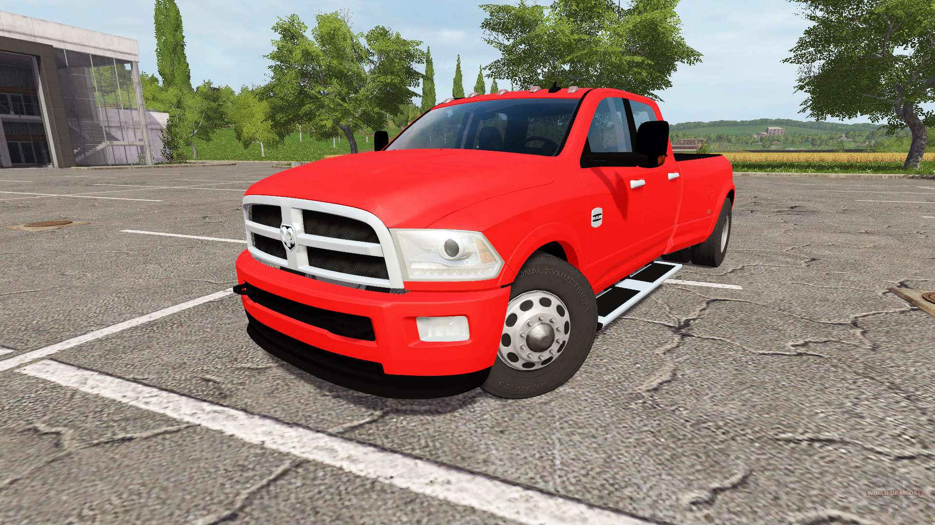 dodge ram 3500 for farming simulator 2017. Black Bedroom Furniture Sets. Home Design Ideas