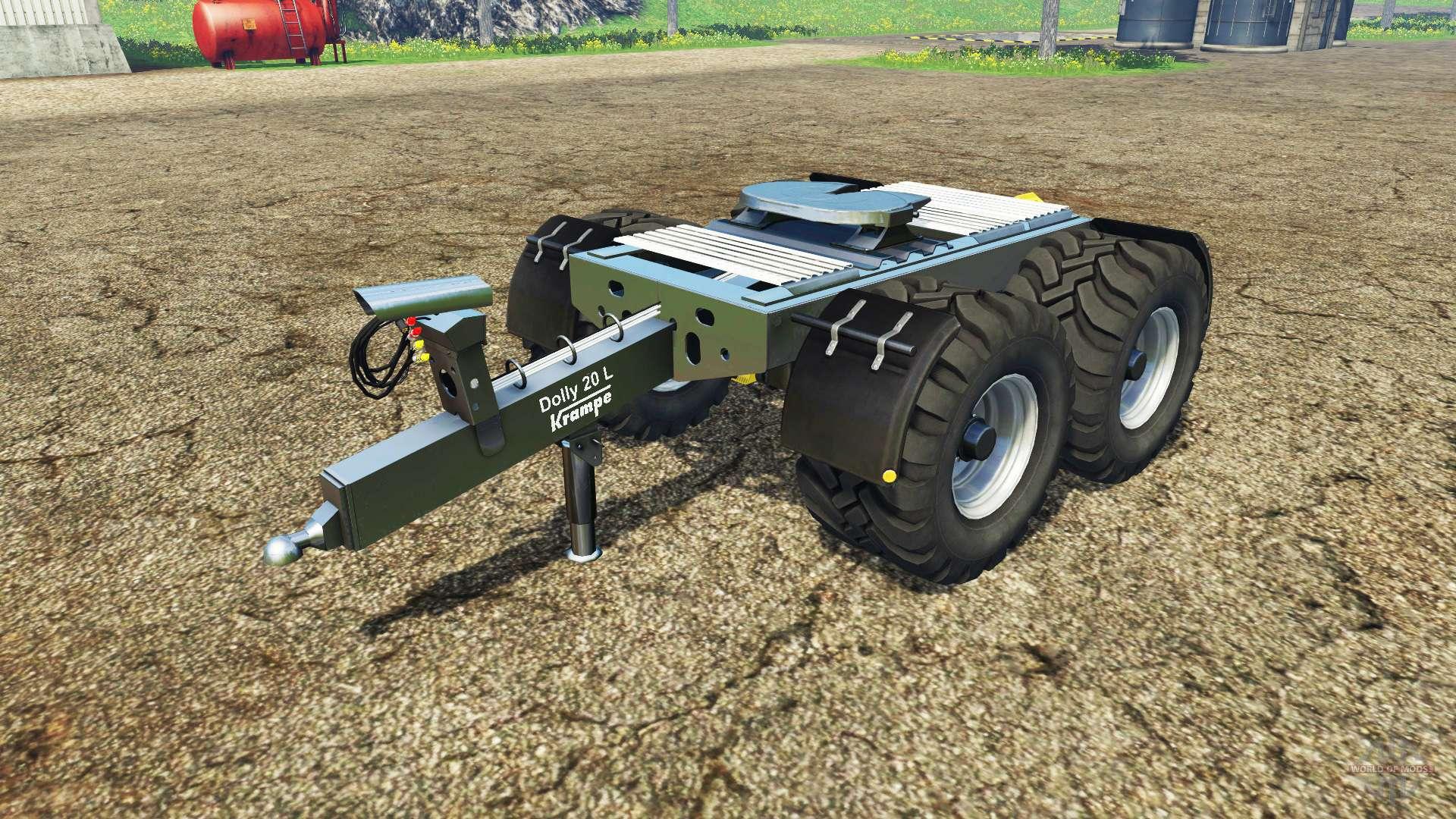 Krampe Dolly for Farming Simulator 2015