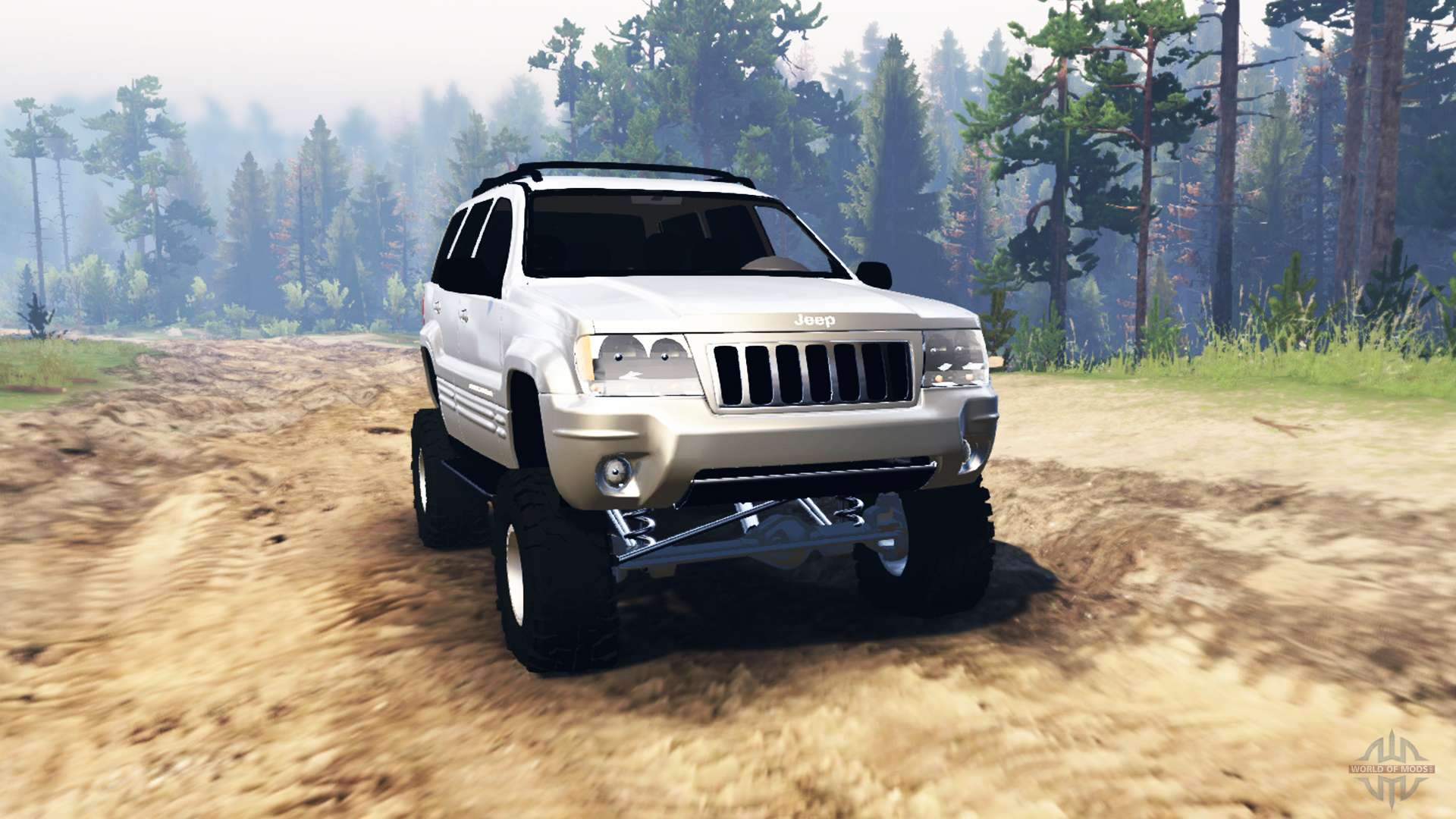 jeep grand cherokee wj 2004 for spin tires. Black Bedroom Furniture Sets. Home Design Ideas