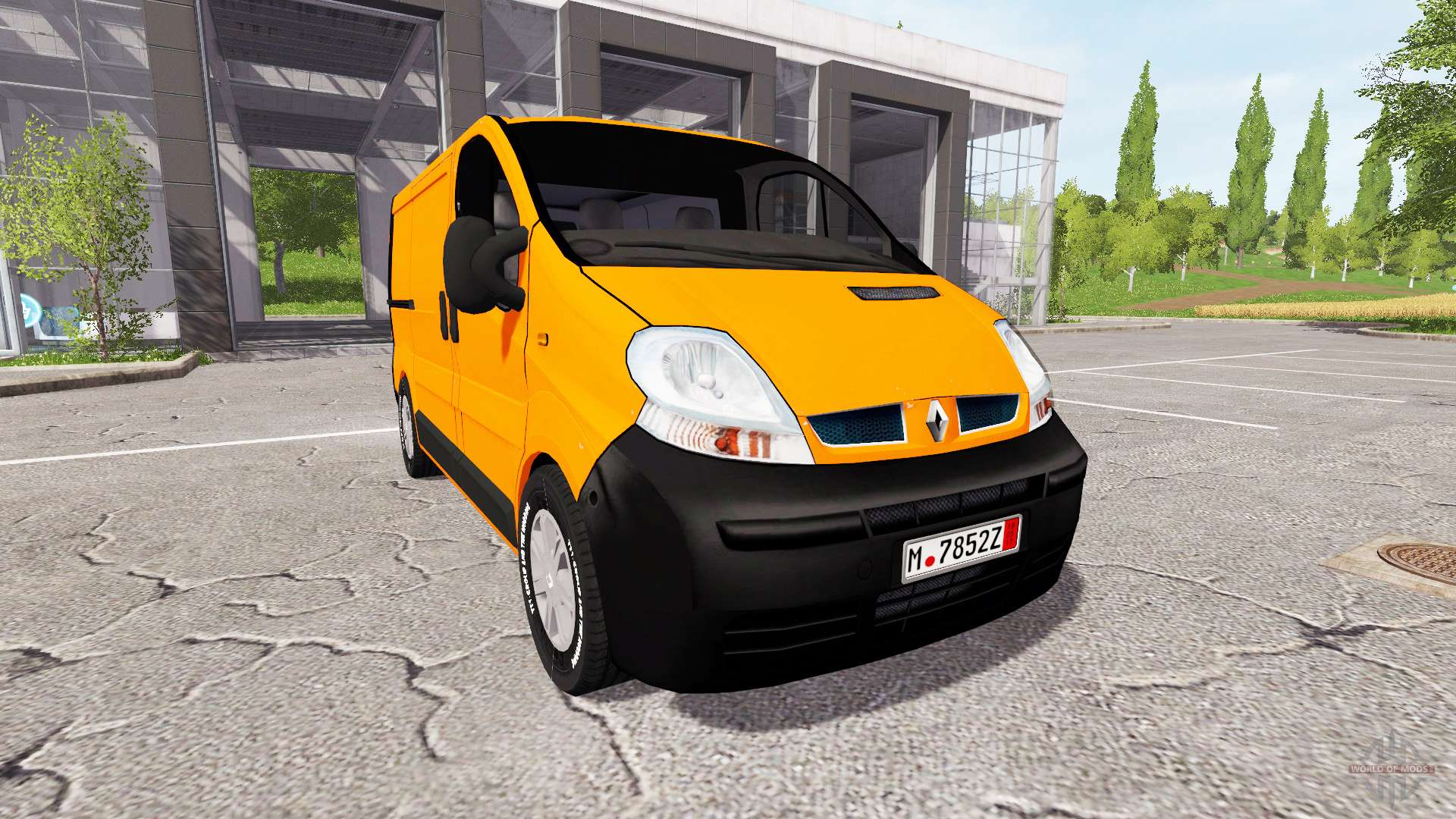 renault trafic v1 4 4 for farming simulator 2017. Black Bedroom Furniture Sets. Home Design Ideas