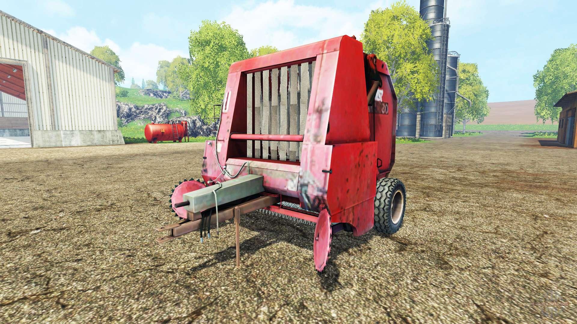 hesston 5580 for farming simulator 2015 rh worldofmods com Hesston 5530 Baler Problems Hesston 5530 Baler Problems