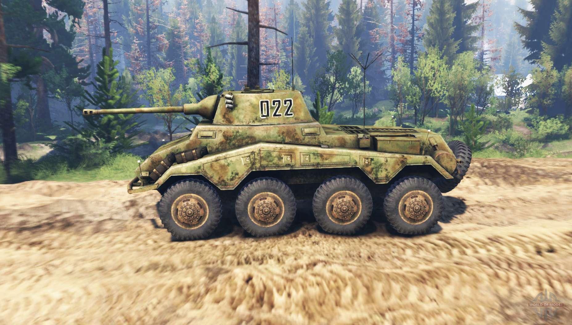 Sonderkraftfahrzeug 234 Puma V2 0 For Spin Tires