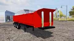 Tipper semitrailer v1.1 for Farming Simulator 2013