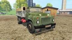 GAZ 53 green