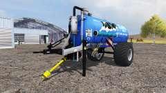 Milk trailer v5.0 for Farming Simulator 2013