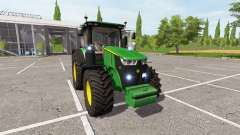 John Deere 7290R v2.0 for Farming Simulator 2017