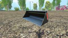 Stoll universal bucket for Farming Simulator 2015