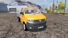 Volkswagen Transporter Dropside (T5) for Farming Simulator 2013