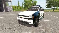 Chevrolet TrailBlazer Police for Farming Simulator 2017