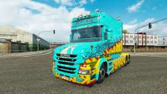 Skin McKays by Vince tractor Scania T