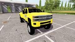 Chevrolet Silverado 3500 HD Police