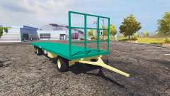 Camara bale trailer v1.1 for Farming Simulator 2013