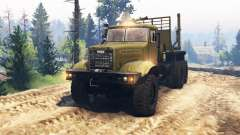 KrAZ 255 v1 mix.1 for Spin Tires