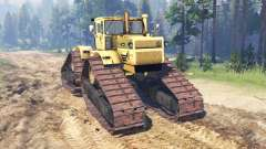 Kirovets K 700A crawler for Spin Tires