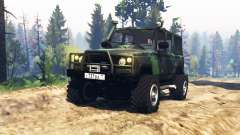 UAZ 3172 Spy v2.0 for Spin Tires