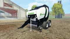 Krone Comprima V180 XC black v1.1 for Farming Simulator 2015