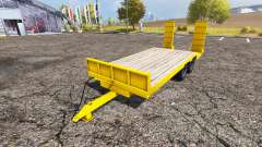 Kane low loader trailer