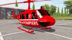 Bell UH-1D sapeurs-pompiers for Farming Simulator 2017