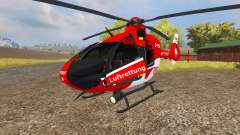 Eurocopter EC135 T2 DRF for Farming Simulator 2013
