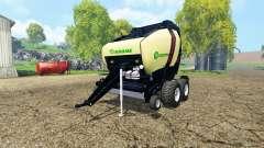 Krone Comprima V180 XC black for Farming Simulator 2015