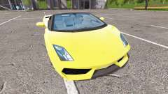 Lamborghini Gallardo Spyder v2.0 for Farming Simulator 2017
