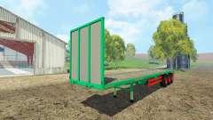 Aguas-Tenias platform trailer