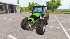 Deutz-Fahr Agrotron 165 Mk3 v2.1 for Farming Simulator 2017