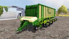 Krone ZX 550 GD rake for Farming Simulator 2013
