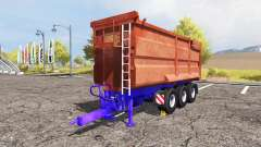 POTTINGER tipper trailer