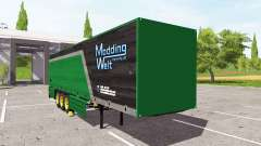 Schmitz Cargobull Modding Welt v1.1 for Farming Simulator 2017