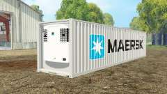 Container reefer 40ft Maersk