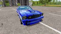 Ford Mustang II King Cobra 1978 for Farming Simulator 2017
