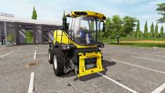 New Holland FR850 v1.5 for Farming Simulator 2017