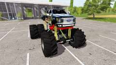 Ford F-450 lifted for Farming Simulator 2017