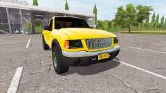 Ford Ranger for Farming Simulator 2017