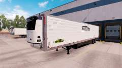 Refrigerated semi-trailer