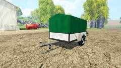 Service car trailer
