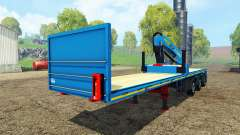 Royen semitrailer for Farming Simulator 2015