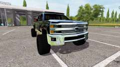 Chevrolet Silverado 2500 HD for Farming Simulator 2017