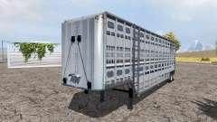 Livestock trailer v3.0 for Farming Simulator 2013