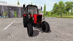 MTZ Belarus 82.1 for Farming Simulator 2017