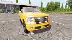 Lizard Pickup TT traffic advisor v1.2 for Farming Simulator 2017