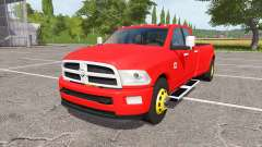 Dodge Ram 3500 v1.1 for Farming Simulator 2017